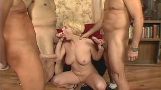 Four cocks for the greedy Missy Monroe