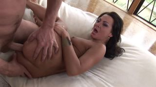 I like when she puts a big cock in her ass!