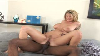 Milf in heat fucks with a black young trendy