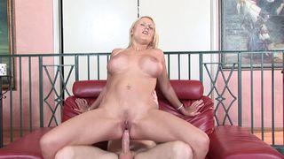 Tall blonde charms big dicks