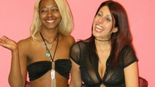 The hot ebony, the nasty white girl and the small cock