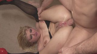Starving slut gets assfucked!