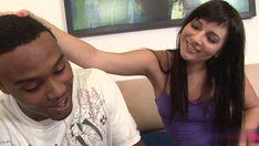 Brunette student seduces her step-dad