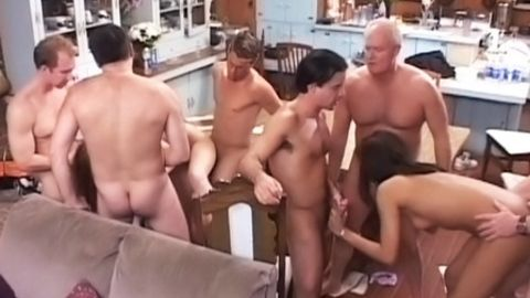 Kitchen Gangbang