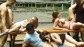 Naughty picnic