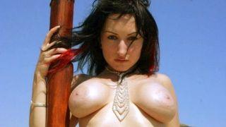 Striptease under the sun